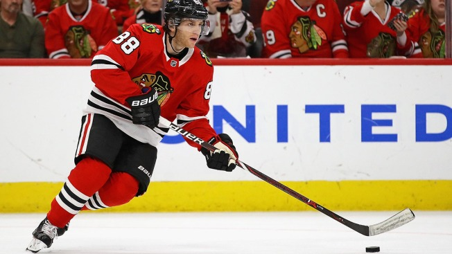 Patrick Kane Sets Blackhawks Team Record in Win Over Devils