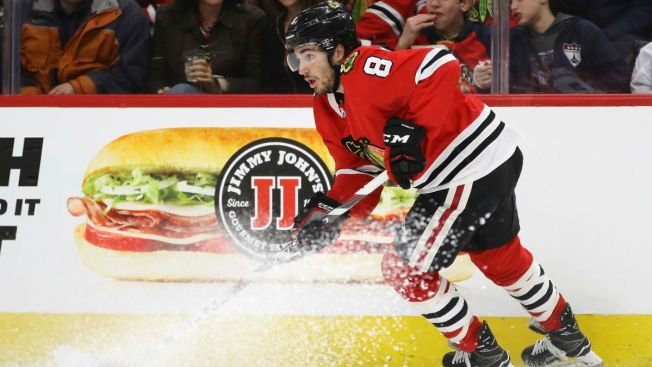Could Dylan Larkin's Contract Set Market for Blackhawks Youngster?