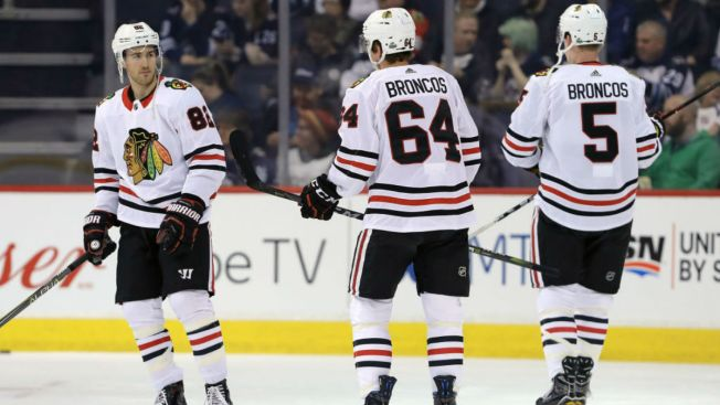 Blackhawks Wrap Up Season With Blowout Loss to Jets