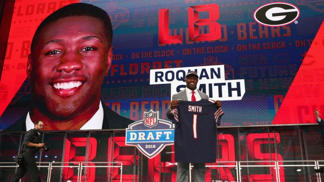 online retailer 200fb 29c15 Bears' Rookies Choose Their Jersey Numbers - NBC Chicago