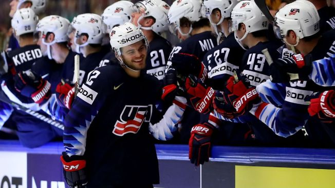 DeBrincat, Kane Dominating Competition at World Championships