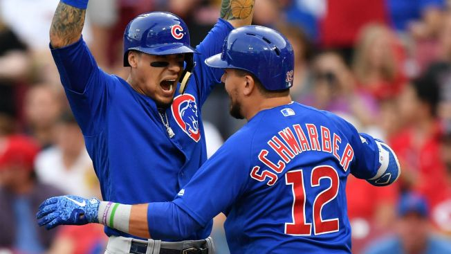 Baez, Schwarber to Swing for Fences in Home Run Derby: Report