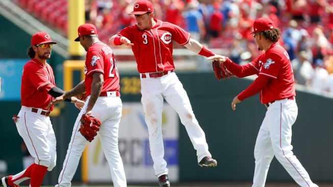 Reds Finish Off Sweep as Cubs Blow Late Lead