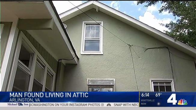 Man Found Living In Attic After Woman Hears Noises Above