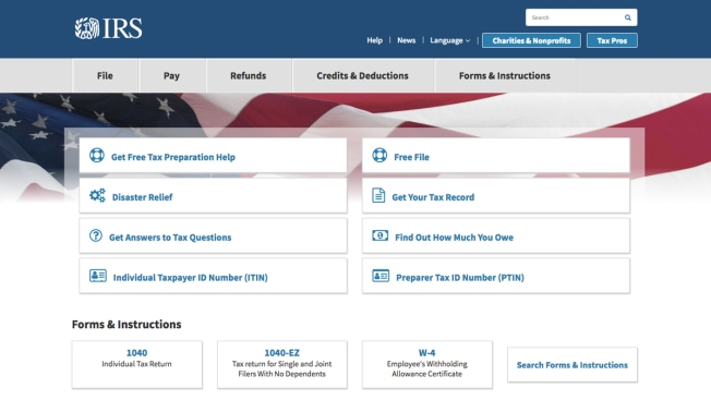 IRS Directions for Using New Tax Withholding Calculator