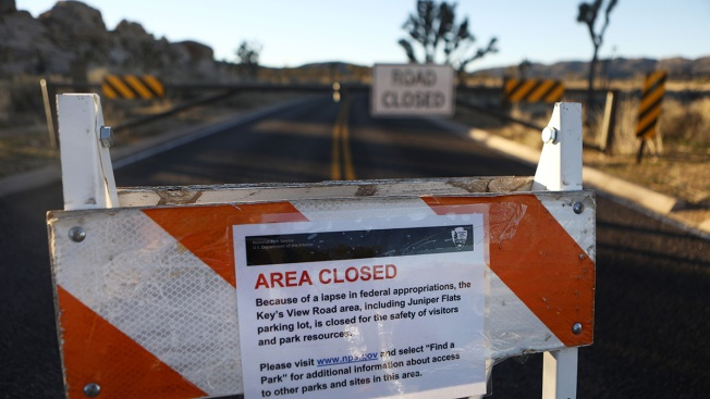 Joshua Tree National Park Closing Due to Shutdown