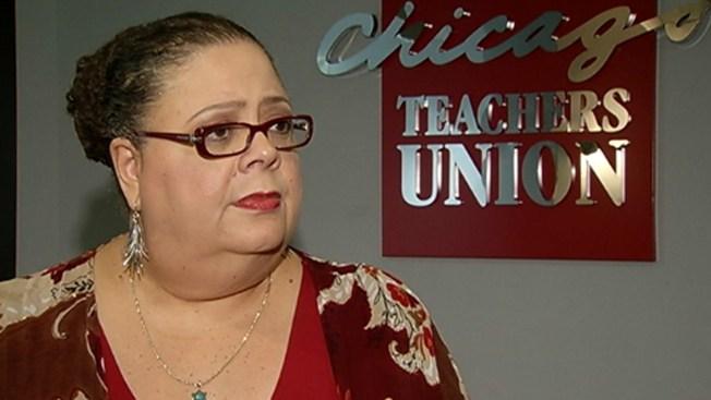 """Karen Lewis Believes Rahm's """"In Trouble"""""""