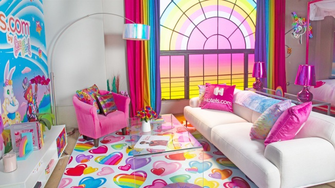This Lisa Frank-Designed Hotel Is the Perfect Slumber Party Destination