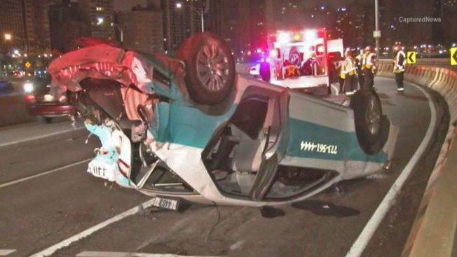 6 Injured in Lake Shore Drive Hit-and-Run Crash