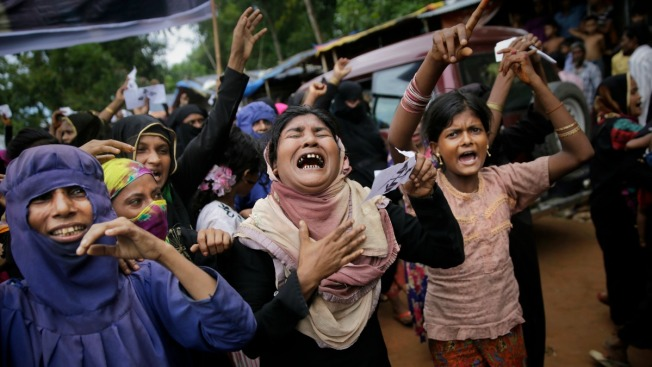 'No More Genocide': A Year After Fleeing Myanmar, Rohingya Demand Justice