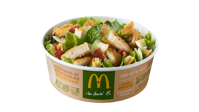 McDonald's New Kale Salad Has More Fat, Calories Than a Big Mac