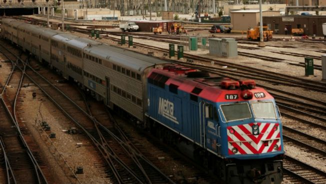 Metra Train Strikes Truck on Chicago's NW Side