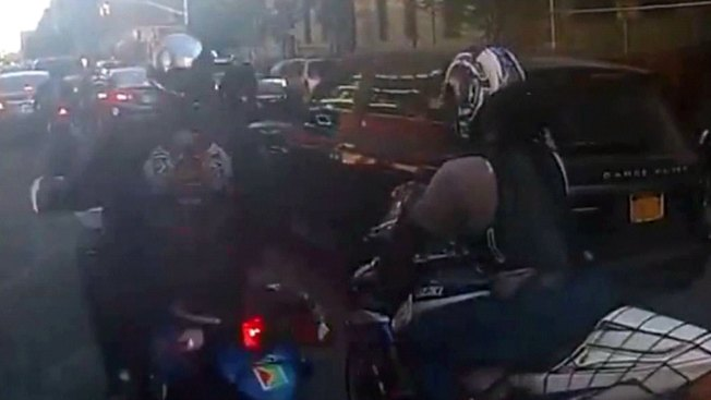 Dad Driving With Family Beaten by Bikers in NYC