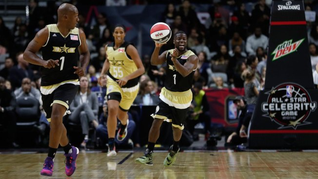 Canada Tops U.S. in All-Star Celebrity Game 74-63