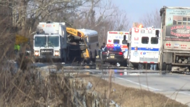 Several Hurt, Including Students, in Indiana School Bus Crash