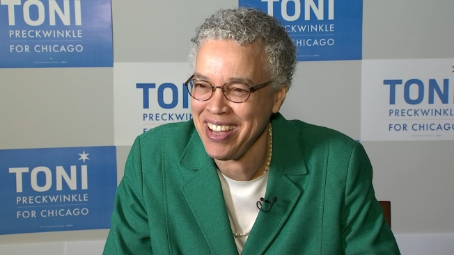 Watch: NBC 5 Interview With Toni Preckwinkle, Candidate for Chicago Mayor