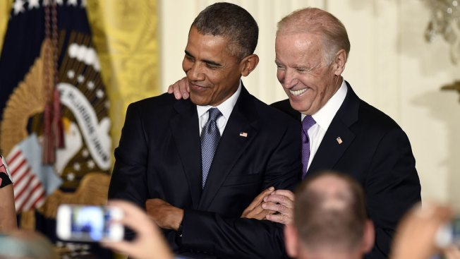 Cozying up to Obama, Biden Says He Backed Bin Laden Raid