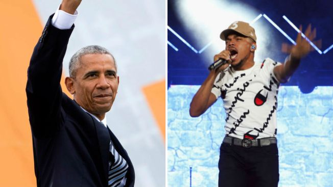 Barack Obama Thanks Chance the Rapper in Video During Free Concert