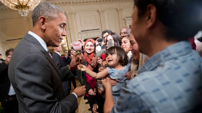 At Ramadan Reception, Obama Decries Discrimination Against Muslims