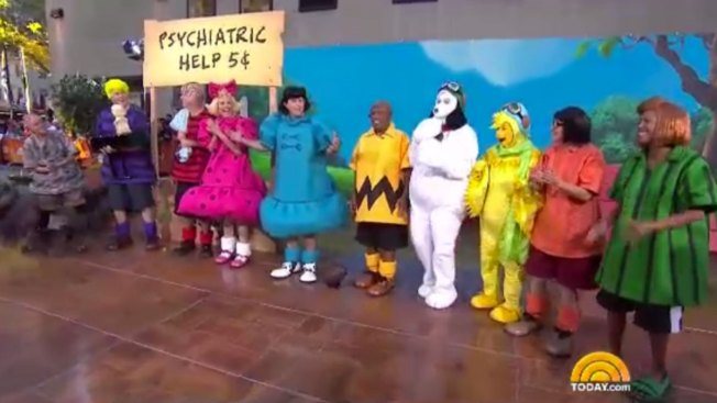 'Good Grief': 'Today' Anchors Go 'Peanuts' for Halloween