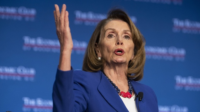 Nancy Pelosi Says Trump 'Not Worth' Impeaching