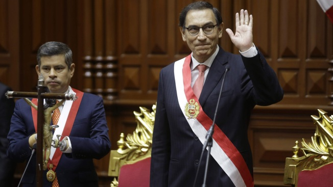 New Peru President Sworn After Kuczynski Resignation
