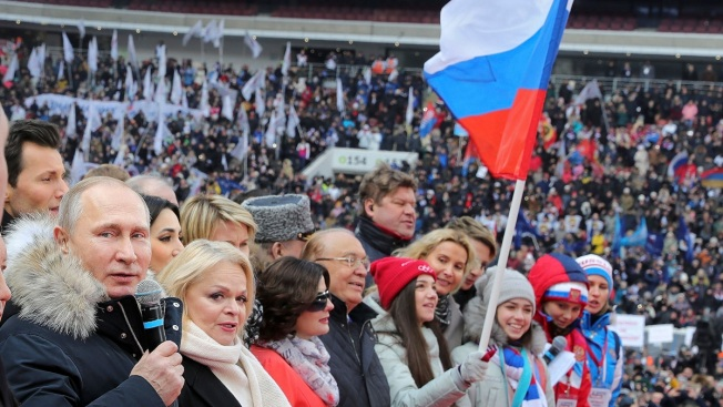Russian Sports Stars Support Putin, Though Some Disagree