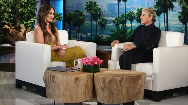 "Chrissy Teigen Takes the Stage on 'Ellen"" Tuesday"