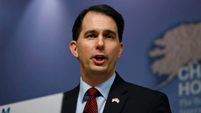 Why Scott Walker Isn't Worried About Winning the Center