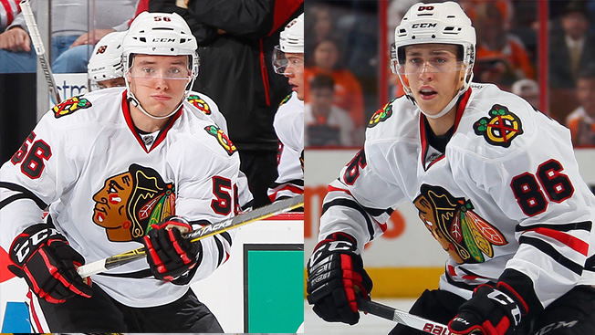 Teravainen, Dano Ruled Out for Blackhawks vs. Flames Friday