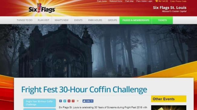 Six Flags Announces Coffin Challenge In Missouri