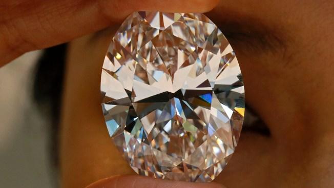 White Diamond Fetches $30.6M at Hong Kong Auction