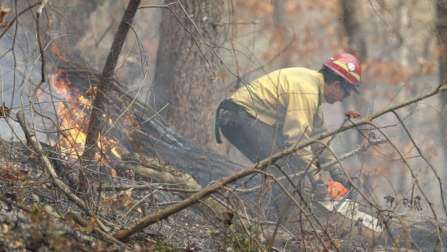 Carteret fire crews lend hand to fight fires in western NC