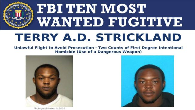 FBI Adds Illinois Man Wanted for Double Homicide to Top 10 Most Wanted List