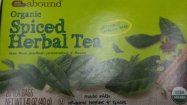 CVS Recalls Gold Emblem Herbal Tea Over Salmonella Concerns