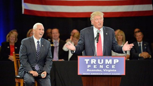 Trump Slams Clinton's VP Pick; Points to DNC 'Mess'