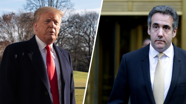 Trump Attacks Cohen, Says Ex-Fixer Shopped a 'Love Letter' Book About Him