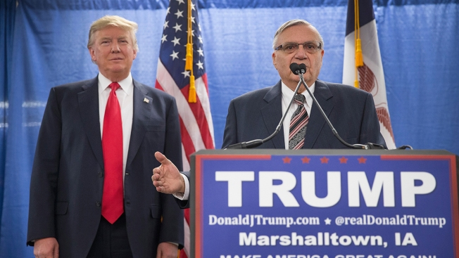 Ex-Sheriff Joe Arpaio, Pardoned by Trump, Wants His Old Job Back