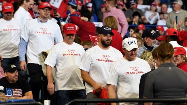 Fact Check: Trump's 'Read the Transcript' Impeachment Cry