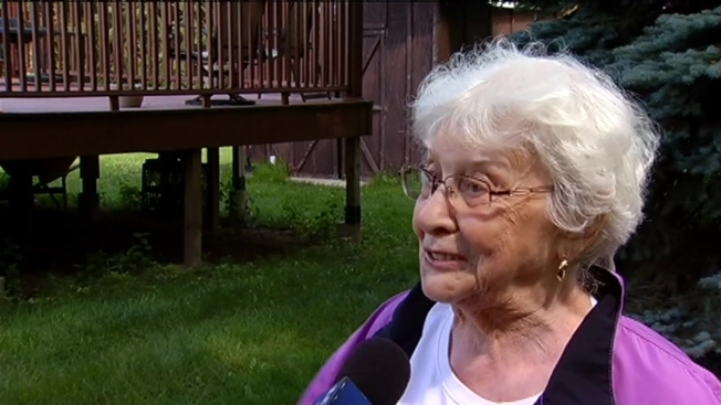 Elderly Woman Saves Dog from Coyotes - NBC Chicago