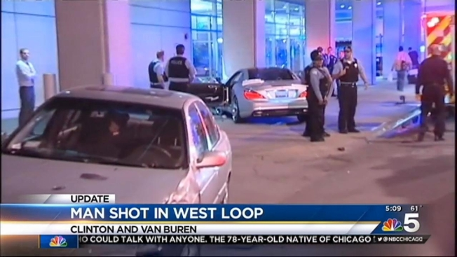 Driver Shot In Head, Leg In West Loop. A Man Driving A Car ...