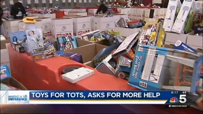 Toys For Tots Chicago : Chicago toys for tots in need of donations nbc