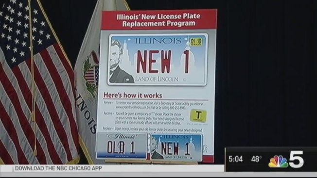 see illinois' new license plates coming soon for some drivers - nbc