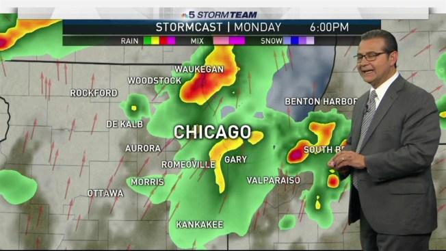 Forecast Steamy Stormy Labor Day