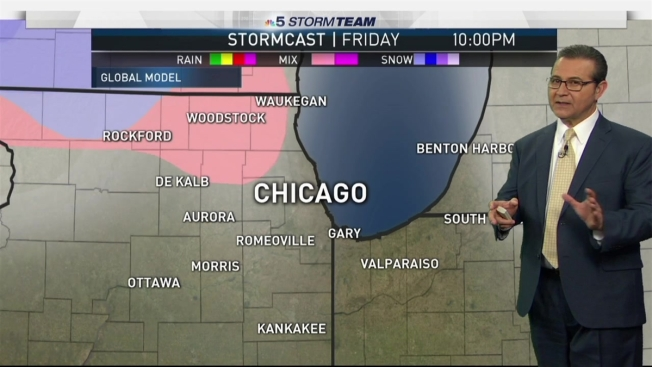 Chicago Weather Forecast Snow For Some