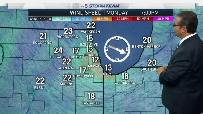 Rockford Weather Map.Snow Totals From Across The Chicago Area Nbc Chicago