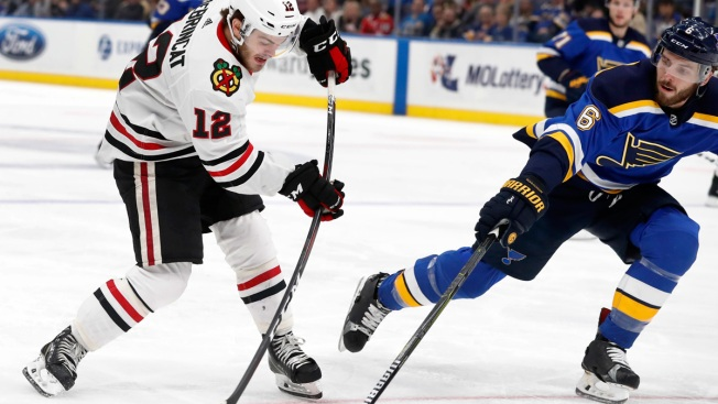 Duncan Keith Lifts Blackhawks Past Blues, 4-3