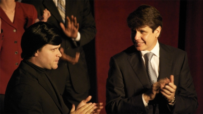 "Blago Gives Second City ""The Brush"""