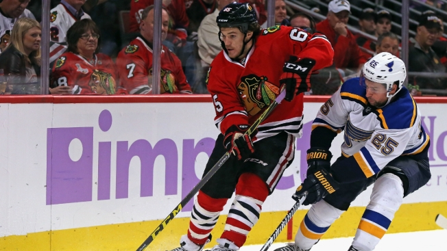 Blackhawks to Play Blues in First Round of Stanley Cup Playoffs