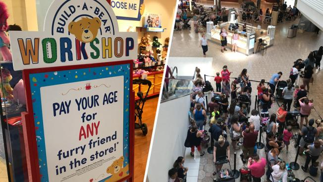 build a bear workshop closes lines as pay your age day sees